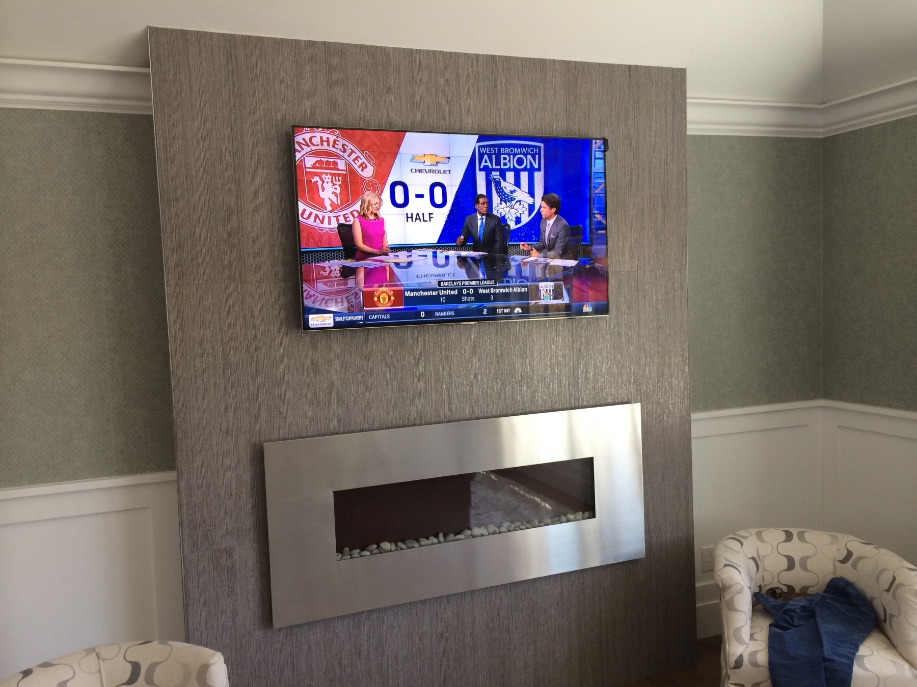 Manchester United Bedroom Our Work South Shore Audio Video Installation