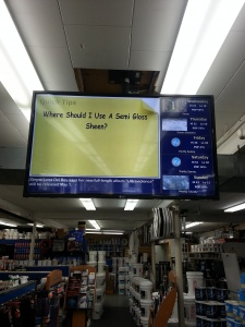 paint store display