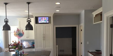 kitchen-in-ceiling-speakers-and-tv – South Shore Audio Video