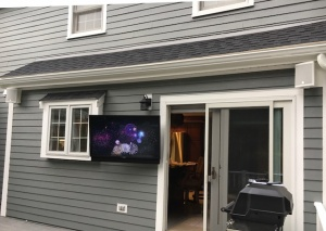 Outdoor TV & Wall Mounted Deck Speakers