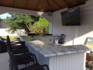 Outdoor Bar TV