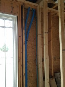 Pre Wire installation of conduit for future wiring